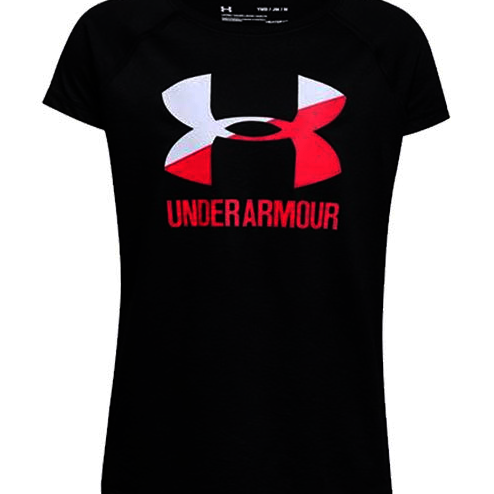 UNDER ARMOUR Large print T-Shirt Girls