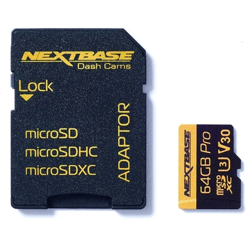 Nextbase 64GB U3 microSD Card