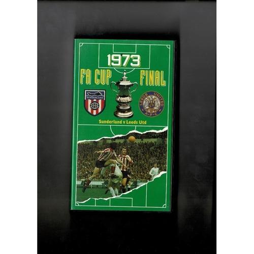 Sunderland v Leeds United 1973 FA Cup Final Video