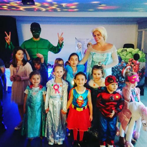 Elsa Party Entertainer with Disco & Magic