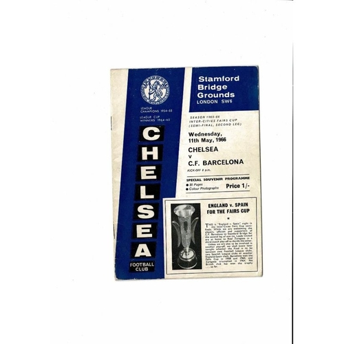 Fairs/ UEFA Cup & Europa League Semi Final Football Programmes