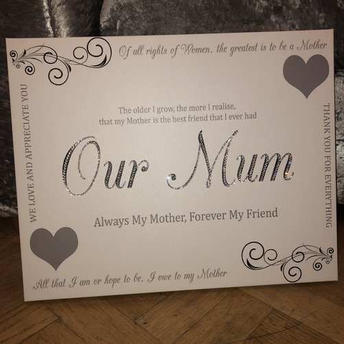Our Mum Canvas
