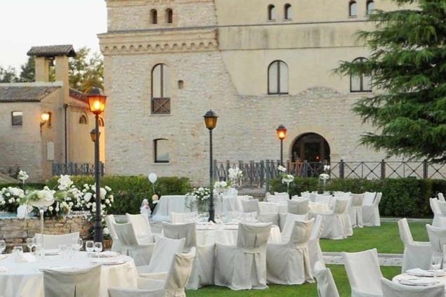 Castle in Abruzzo