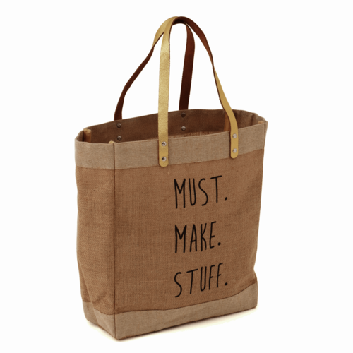 Must Make Stuff Tote Bag