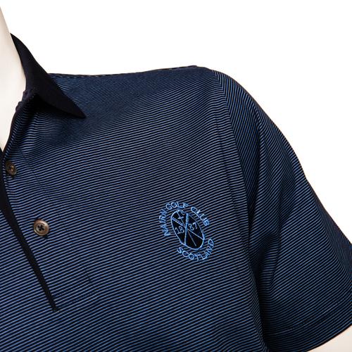 Marbas Molise Short Sleeve Polo Navy
