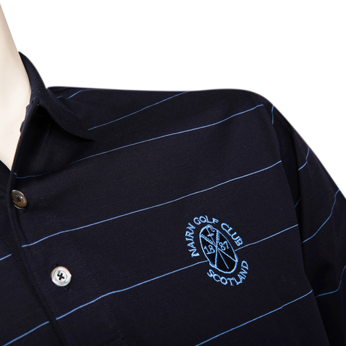 Marbas Procida Short Sleeve Polo - Navy