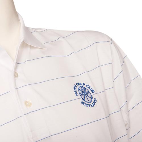 Marbas Procida Short Sleeve Polo - White