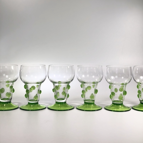 Roemer hand blown wine/cordial glasses