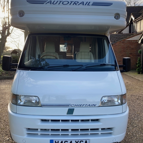 AutoTrail Chieftain Motorhome Tag Axle 8.4m ONLY 28034 Miles Fiat Ducato 2.8TD