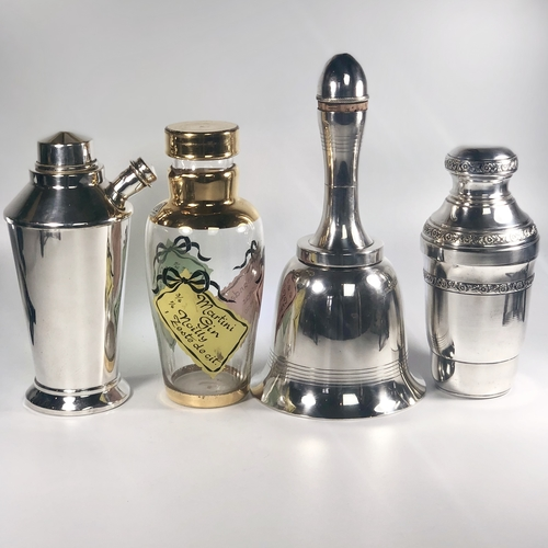 Iconic Asprey Art Deco 'bell' cocktail shaker