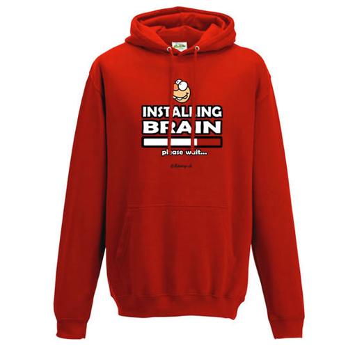 'Installing Brain' Hoodie