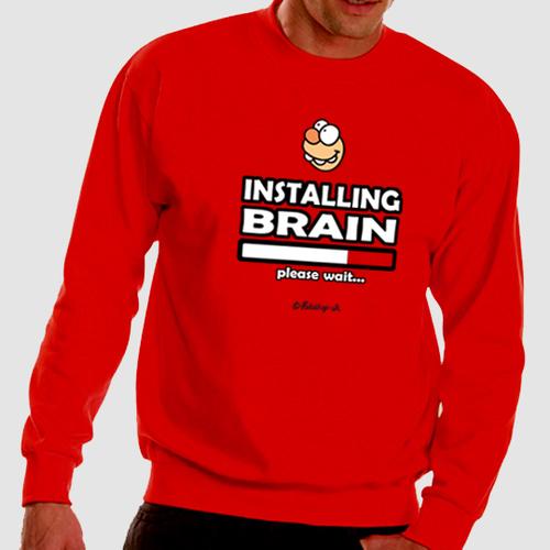 'Installing Brain' Sweatshirt