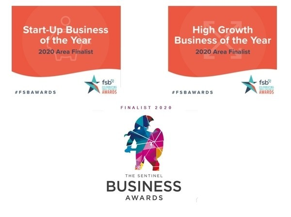 Small Business Awards - Times Two!