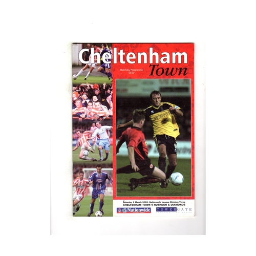 Rushden & Diamonds Away Football Programmes
