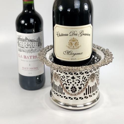 Beautiful Victorian Magnum wine coaster