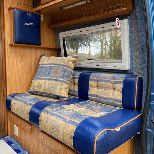 IH Savannah Gold Luxury Camper Van 2 Berth 2.8 JTD 62974 Miles Fiat Ducato 2001