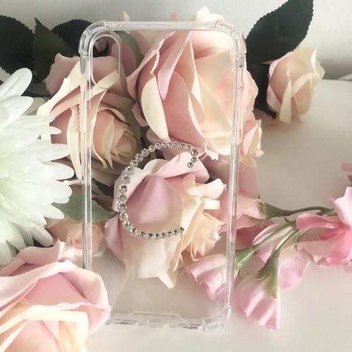 Initial Phone Case with Swarovski® Crystal
