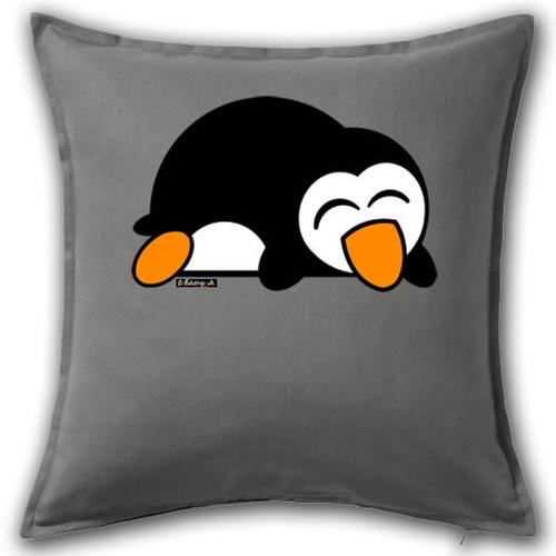 'Sleepy Penguin' Cushion