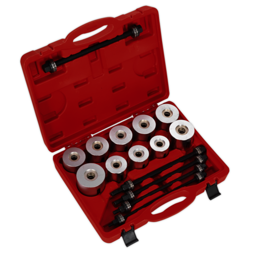 Bearing & Bush Removal/Installation Kit 27pc - Sealey - VS7026
