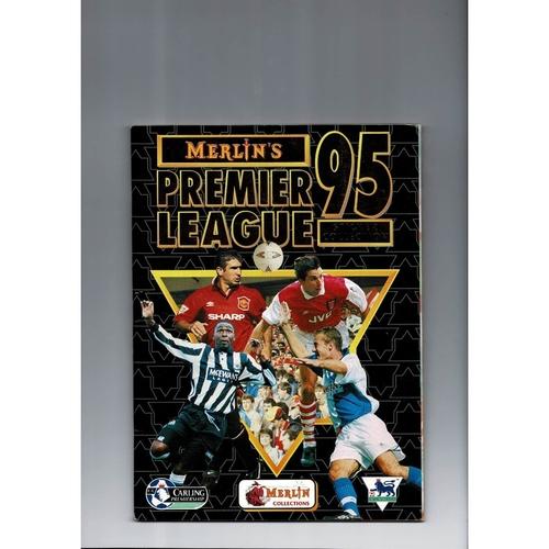 1995 Merlin's Premier League sticker Album - Complete