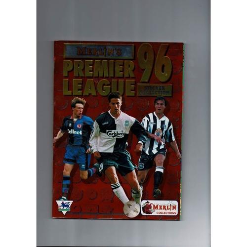 1996 Merlin's Premier League sticker Album - Complete