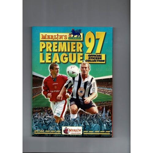 1997 Merlin's Premier League sticker Album - Complete