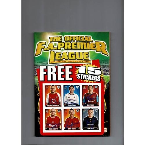 2003 Merlin's Premier League sticker Album - Complete