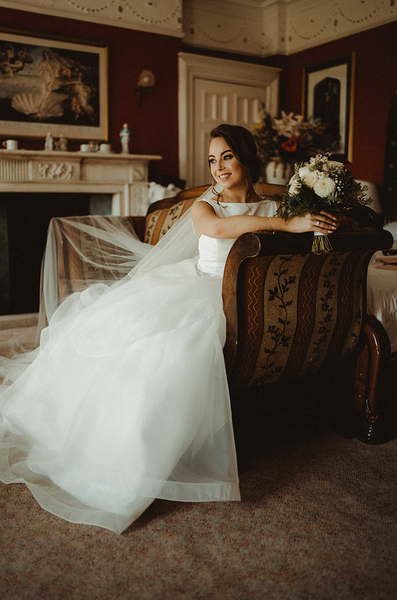 Real bride Sam - Court Coleman Manor