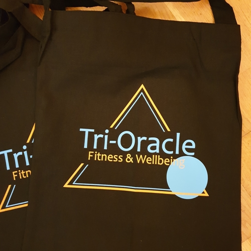 Tri-Oracle Sling Tote Bag