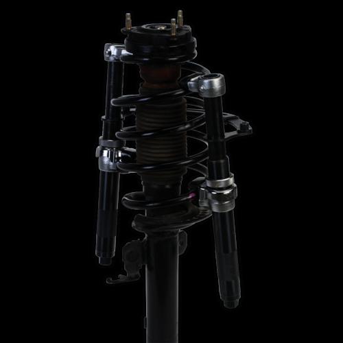 Coil Spring Compressor Set 2pc Heavy-Duty 1200kg/Pair - Sealey - AK3843