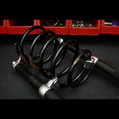 Coil Spring Compressor Set 2pc Heavy-Duty 1000kg/Pair - Sealey - AK3845