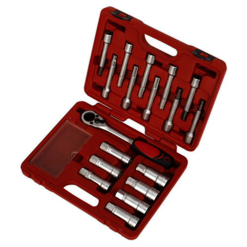 Shock Absorber Strut Nut Kit 18pc - Sealey - VS0331