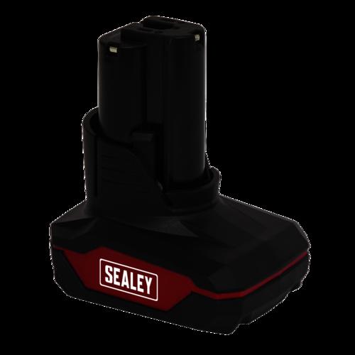 Power Tool Battery 12V 4Ah Li-ion for CP1200 Series - Sealey - CP1200BP4