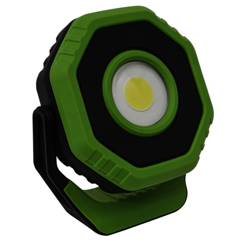 Rechargeable Pocket Floodlight with Magnet 360° 7W COB LED - Green - LED700P