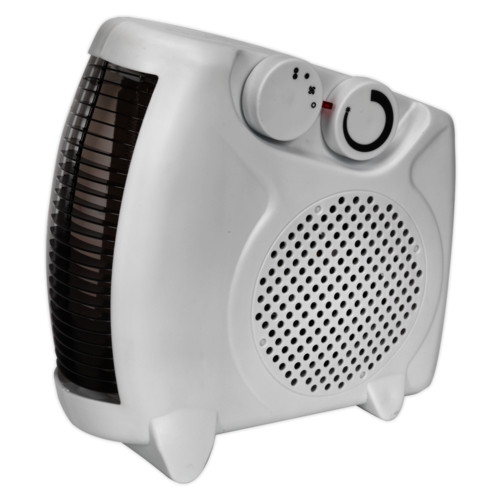 Fan Heater 2000W/230V 2 Heat Settings & Thermostat - Sealey - FH2010