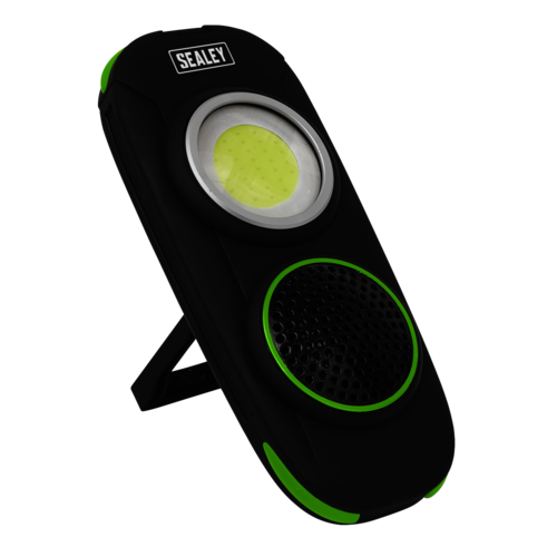 Rechargeable Torch with Wireless Speaker 10W COB LED - Sealey - LED50WS