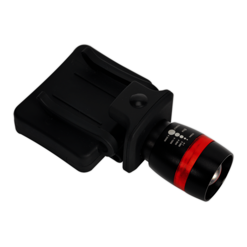 Head & Hat Torch 3W CREE LED 3 x AAA Cell - Sealey - HT103LED