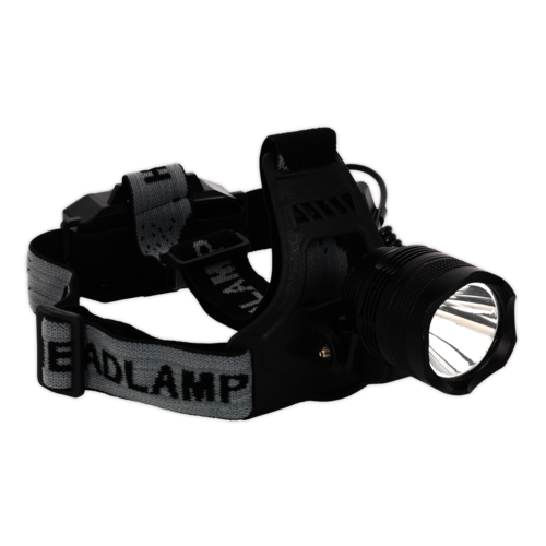 Head Torch 3W CREE LED Rechargeable - Sealey - HT105LED