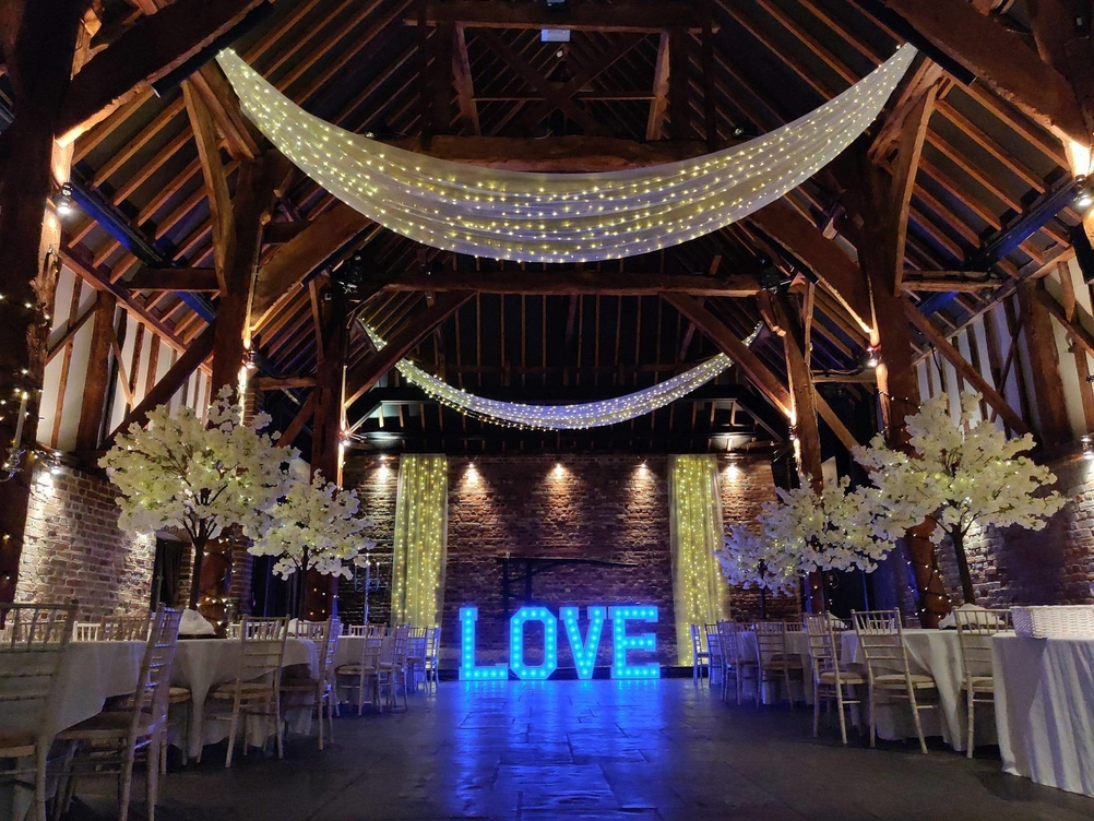 Wedding Light Up Letter Hire