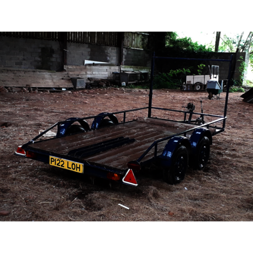 Flat Twin axle trailer 10ft x5ft ref (812650)