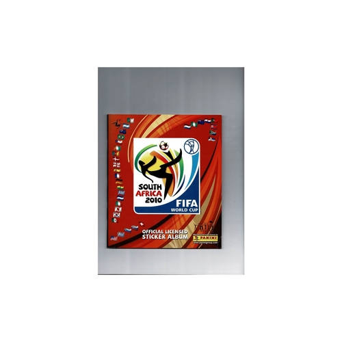 2010 South Africa World Cup Panini sticker Album - Complete