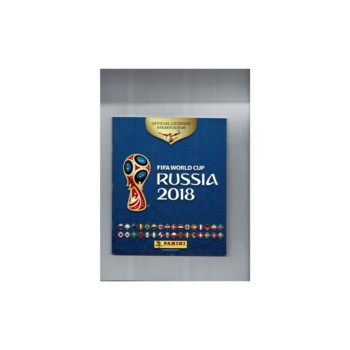 2018 Russia World Cup Panini sticker Album - Complete