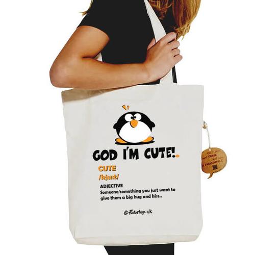 'God I'm Cute' Shopper
