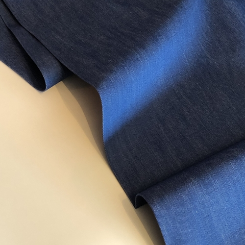 Bright Blue Stretch Denim