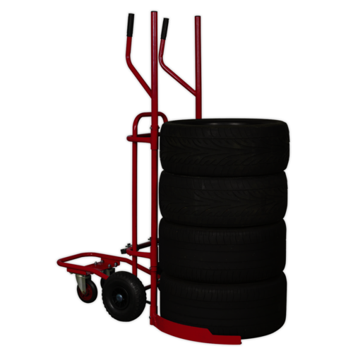Tyre Trolley 200kg Capacity - Sealey - TH003