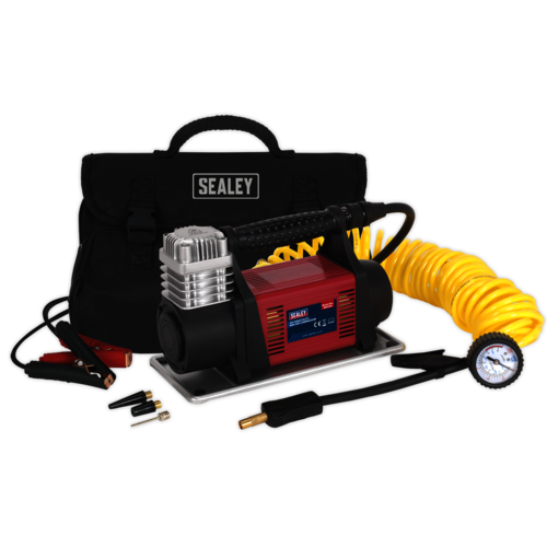 Mini Air Compressor 12V Heavy-Duty - Sealey - MAC06