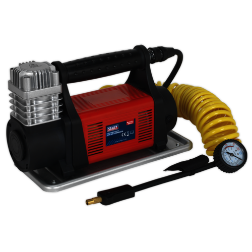 Mini Air Compressor 12V Heavy-Duty - Sealey - MAC07