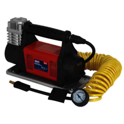 Mini Air Compressor 12V Heavy-Duty - Sealey - MAC07
