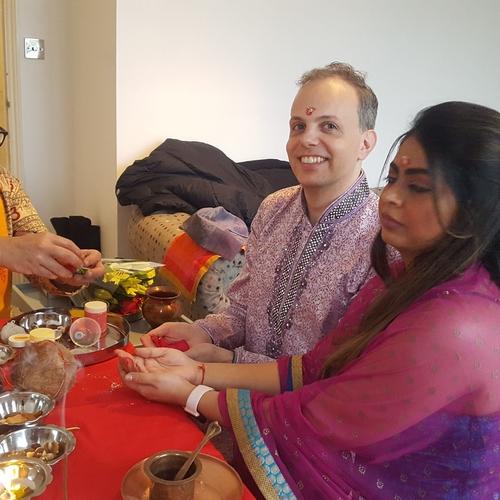 The Navagraha Pooja