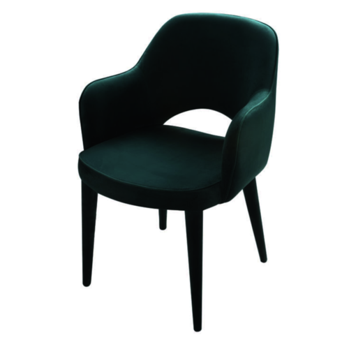 Cosy Green Armchair